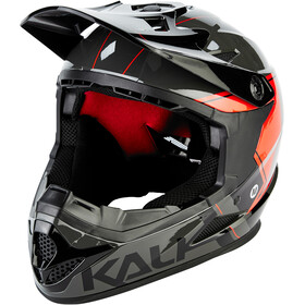 Kali Zoka Helmet Men grey/red/black